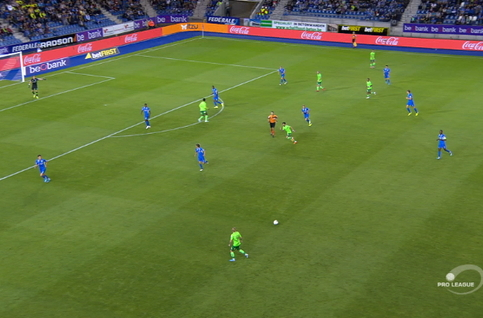 Goal: Genk 1 - 1 Ostende 32', Sylla