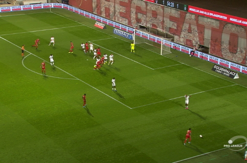 Goal: Royal Antwerp 2 - 1 Cercle Brugge 56', Mbokani