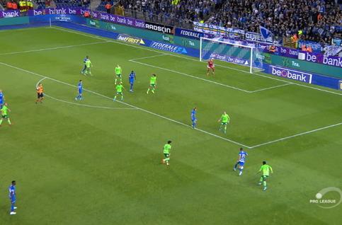 Goal: Genk 2 - 1 Ostende 44', Onuachu