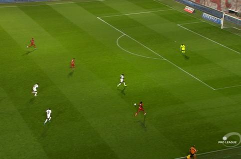 Goal: Waasland-Beveren 1 - 1 Moeskroen 72', Schryvers