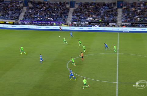 Goal: Genk 3 - 1 Ostende 90', Berge