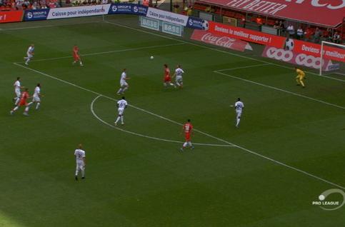 Goal: Standard 2 - 0 Eupen 27', Boljevic