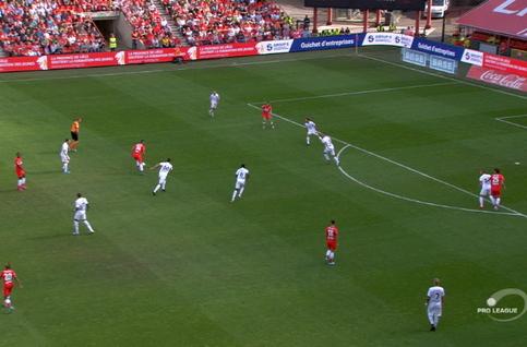 Goal: Standard 1 - 0 Eupen 6', Laifis