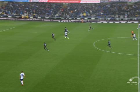 Goal: FC Bruges 0 - 1 Anderlecht 5', Chadli