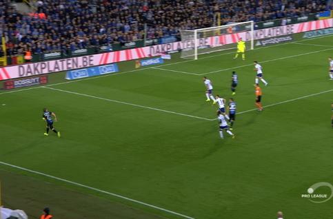 Goal: FC Bruges 2 - 1 Anderlecht 69', Diatta