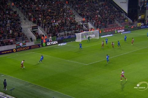 Goal: SV Zulte Waregem 1 - 0 KAA Gent 12', Seck