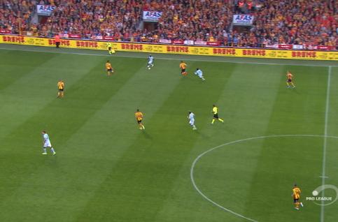 Goal: KV Mechelen 0 - 1 Club Brugge 19', Diatta