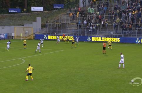 Goal: Union Saint Gilloise 2 - 1 RE Virton 62', Nielsen