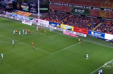 Goal: KV Mechelen 0 - 2 Club Brugge 63', Diagne