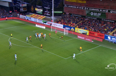 Goal: KV Mechelen 0 - 4 Club Brugge 76', Schrijvers