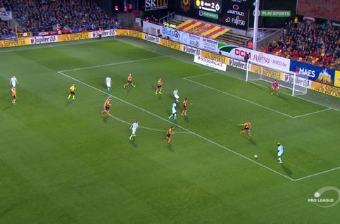 Goal: KV Mechelen 0 - 3 Club Brugge 70', Diagne