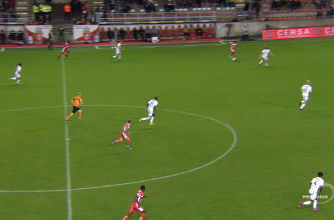Goal: Moeskroen 2 - 0 SV Zulte Waregem 50', Garcia