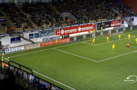 Goal: STVV 0 - 1 KRC Genk 14', Bongonda