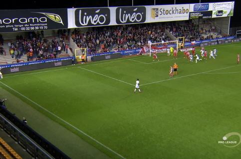 Goal: Moeskroen 2 - 2 SV Zulte Waregem 90', Oberlin