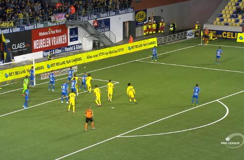 Goal: STVV 1 - 3 KRC Genk 63', Boli