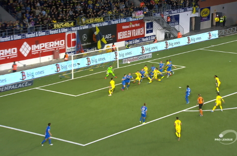 Goal: STVV 2 - 3 KRC Genk 80', Garcia Tena