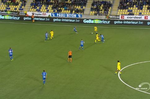 Goal: STVV 3 - 3 KRC Genk 87', Boli