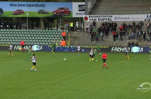 Goal: Lommel SK 0 - 1 Lokeren 7', Beridze
