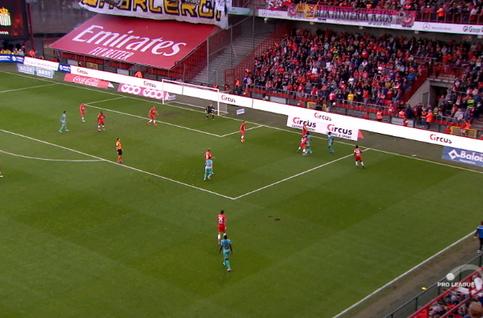 Goal: Standard 0 - 1 Charleroi 45', Morioka