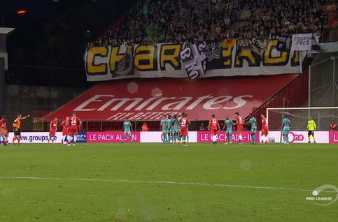 Goal: Standard 1 - 1 Charleroi 90', Mpoku