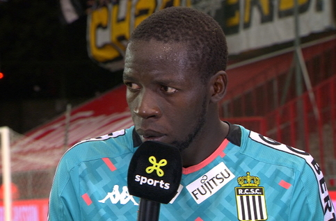 Interview Diandy après Standard - Charleroi