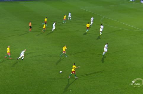 Goal: KV Oostende 1 - 1 Royal Antwerp 61', Sakala