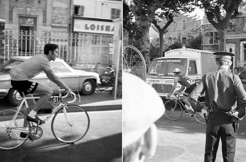 Le Tour de France 1969 d'Eddy Merckx vu à travers le regard de Jef Geys