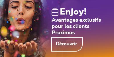 Enjoy! Exclusive advantages