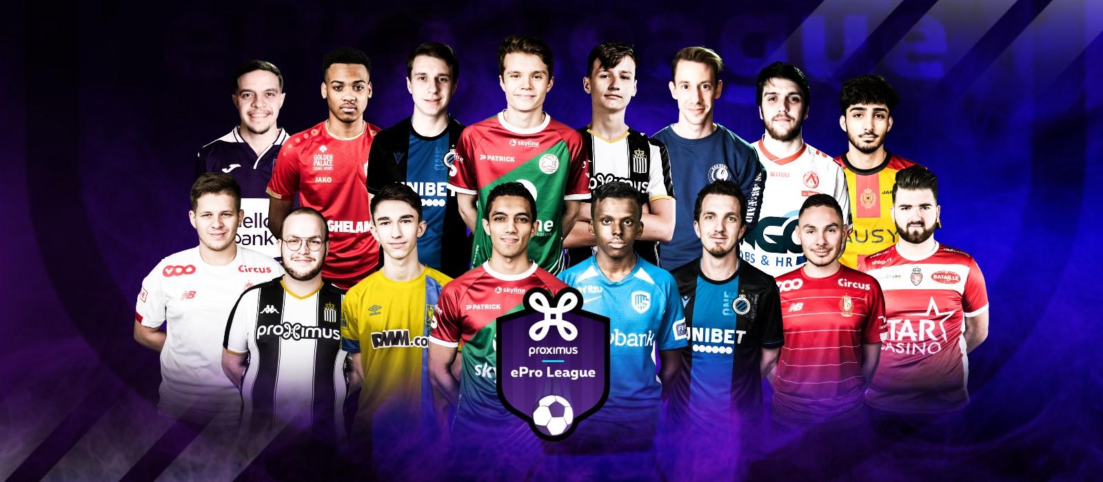 Play-offs Proximus ePro League