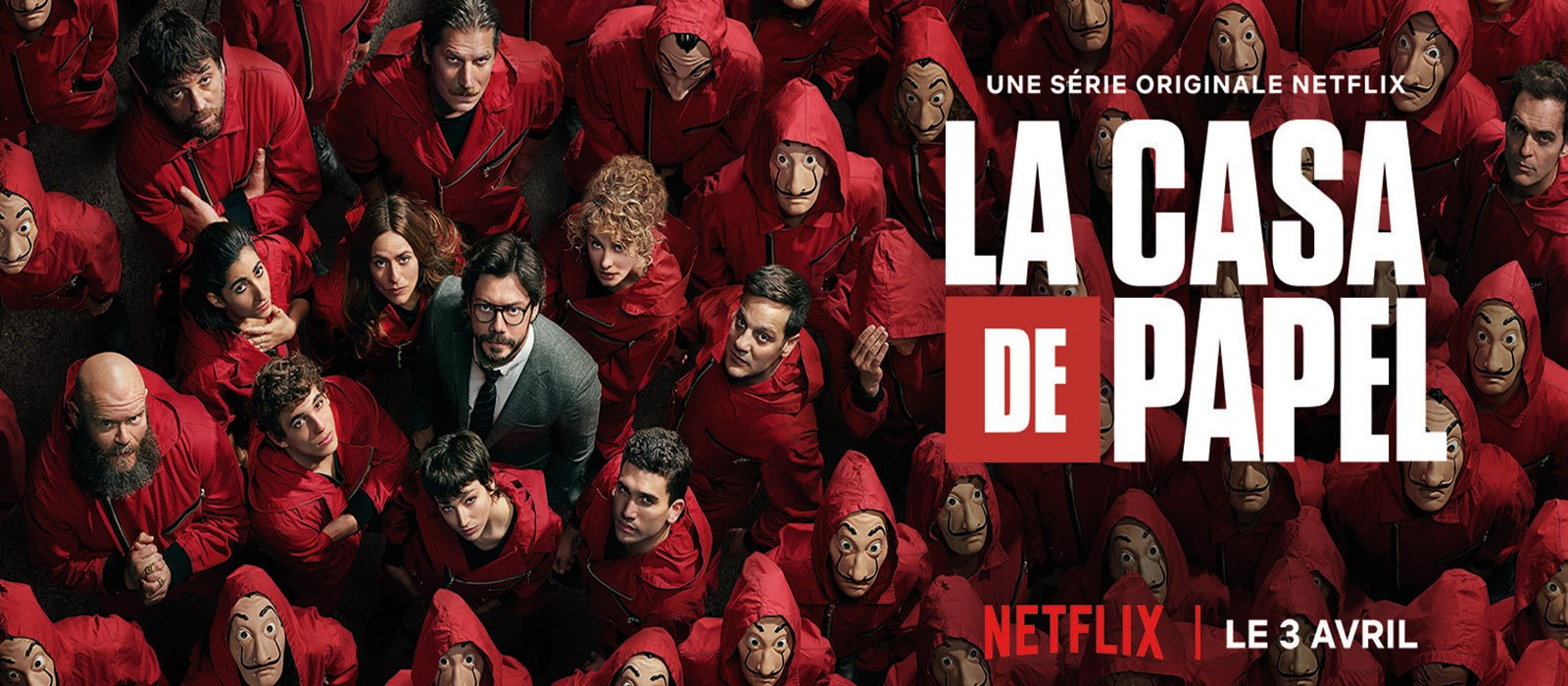 La Casa de Papel, partie 4  <br />maintenant sur Netflix