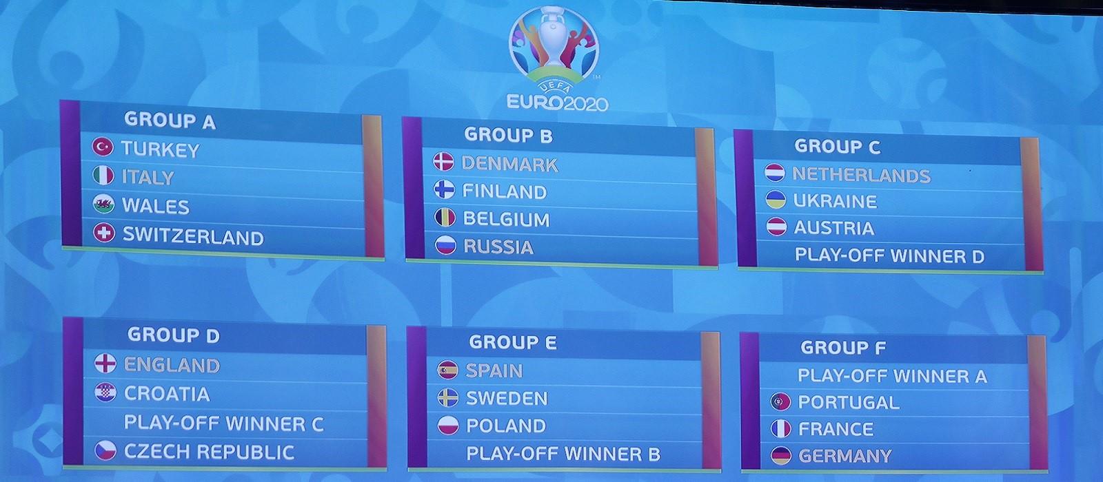 Voorronde EK 2020