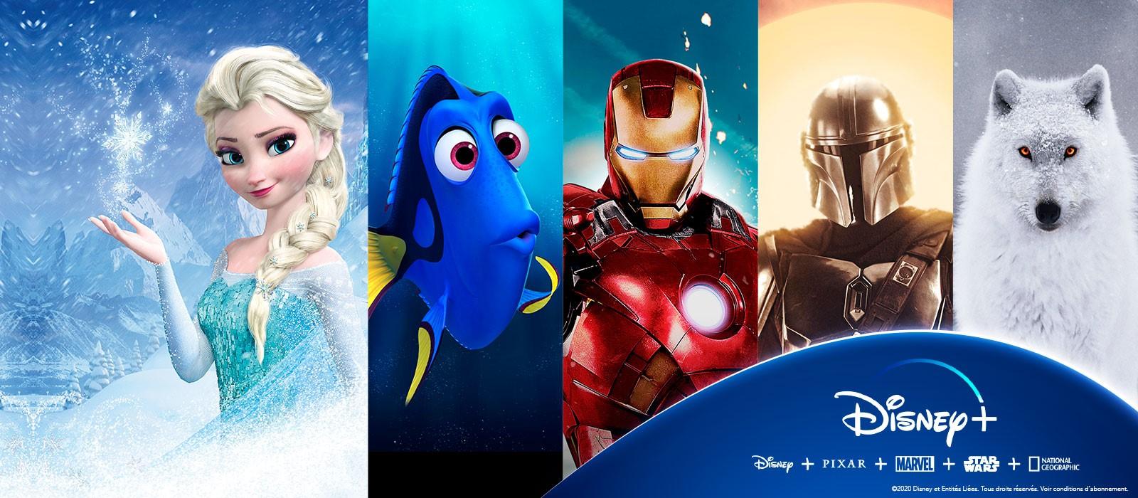 Toute l'émotion  <br />de Disney+