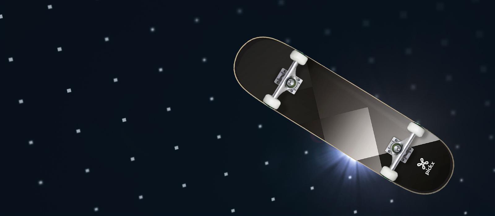 Win een Pickx skateboard